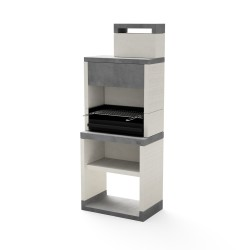 PLAN 1 GRILLER PLUS CHARCOAL & FIREWOOD