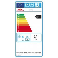 Certificado Energético Salamandra a lenha com forno Murano