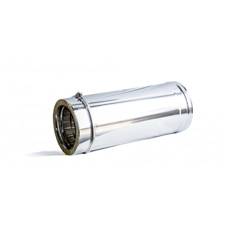 Tubo Inox Duplo Isolado 1M