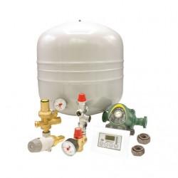 Kit segurança fechado para recuperador calor água